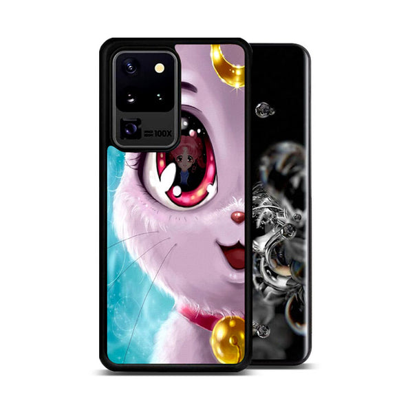 Sailor Moon X Cat Luna Eyes Samsung Galaxy S20 Ultra Case | Frostedcase