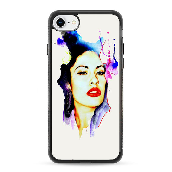 Selena Quintanilla Illustrations iPhone 8 Case | Frostedcase