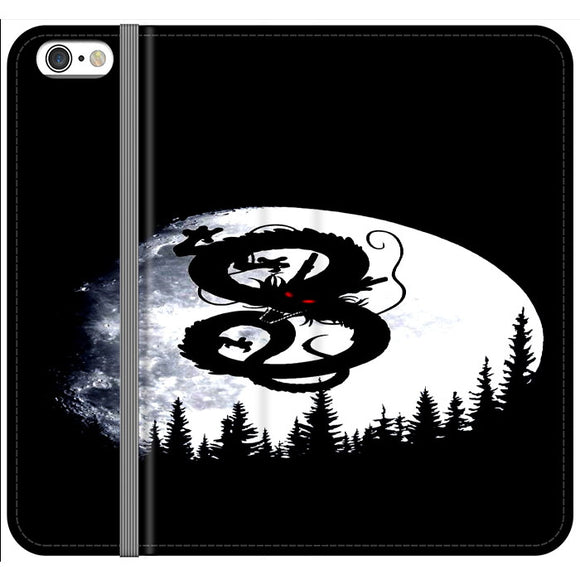 Shenron Dragon Ball Silhouette iPhone 6 Plus|6S Plus Flip Case | Frostedcase