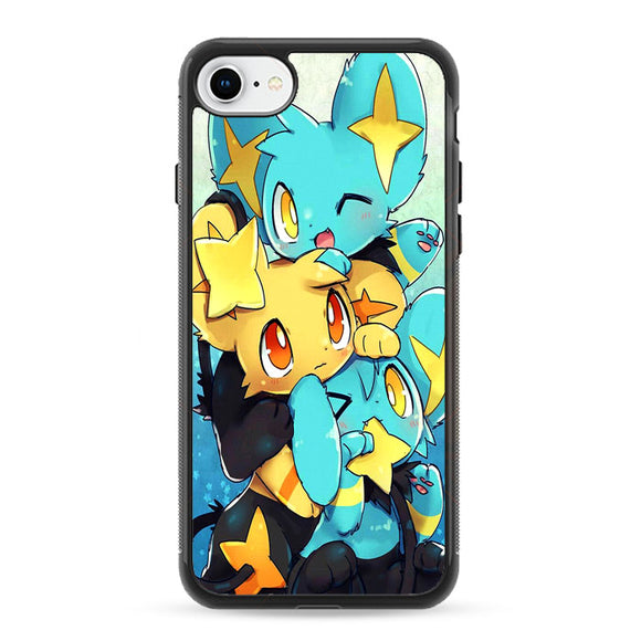 Shiny Shinx And Luxio And Luxray Models iPhone 8 Case | Frostedcase