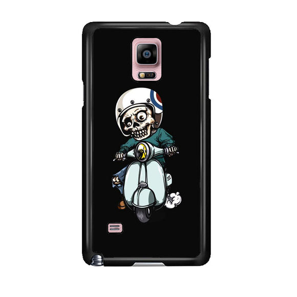 Skull Scooter Vector Samsung Galaxy Note 4 Case | Frostedcase