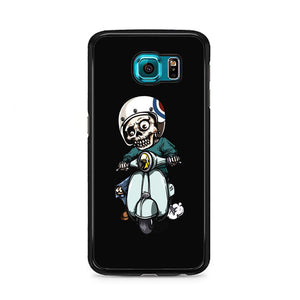 Skull Scooter Vector Samsung Galaxy S6 Case | Frostedcase