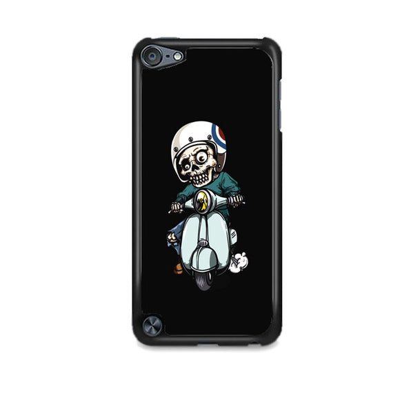 Skull Scooter Vector iPod 5 Case | Frostedcase