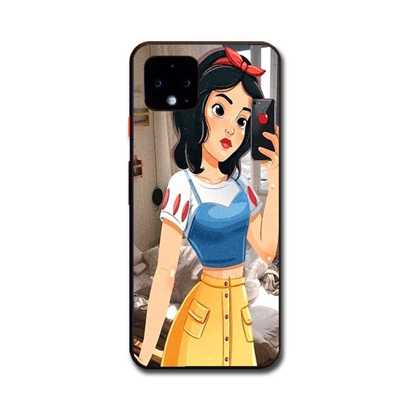 Snow White Paint Swag Google Pixel 4 XL Case | Frostedcase