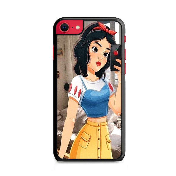Snow White Paint Swag iPhone SE Case | Frostedcase