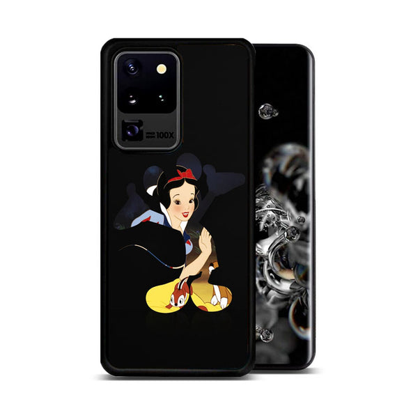 Snow White X Mickey Silhouette Samsung Galaxy S20 Ultra Case | Frostedcase