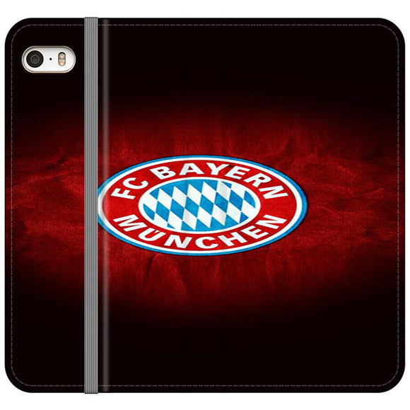 Soccer Teams Bayern iPhone 5|5S|SE Flip Case | Frostedcase