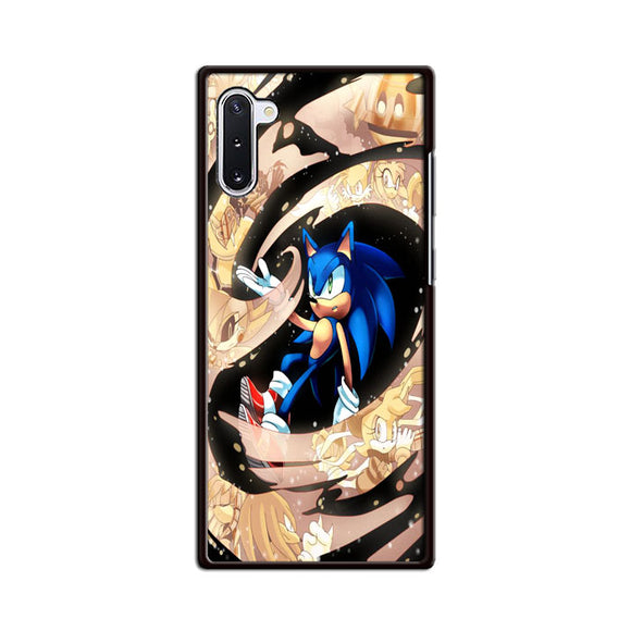 Sonic Comic And Animation 2020 Samsung Galaxy Note 10 Case | Frostedcase