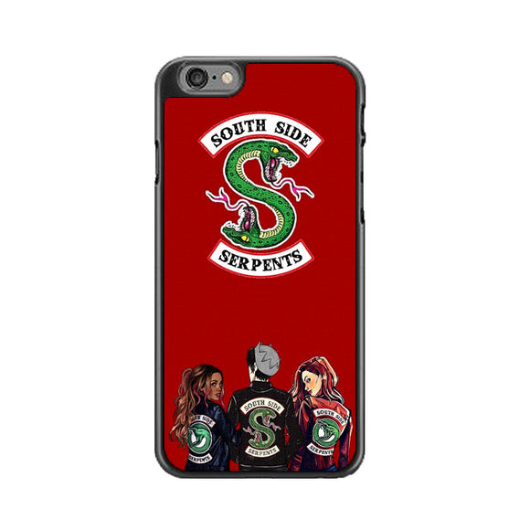 Southside Serpent Canvas Paint Red iPhone 6 Plus|6S Plus Case | Frostedcase