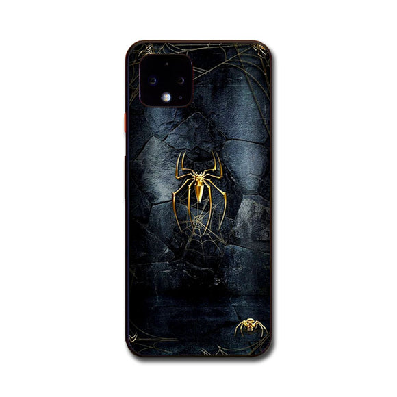 Spider Man Black And Gold Edition Google Pixel 4 XL Case | Frostedcase