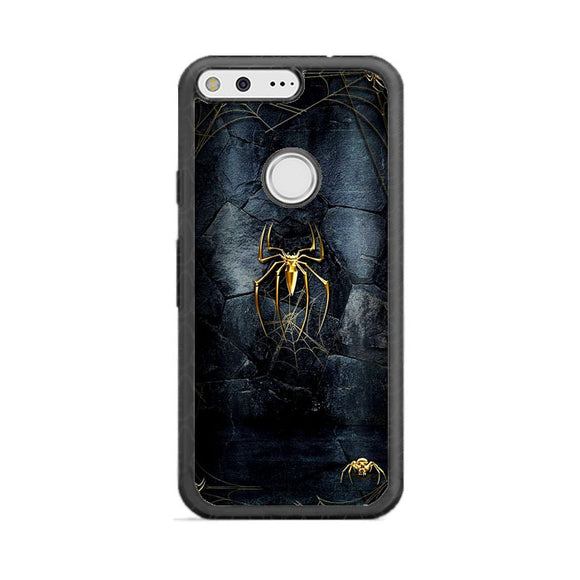 Spider Man Black And Gold Edition Google Pixel Case | Frostedcase