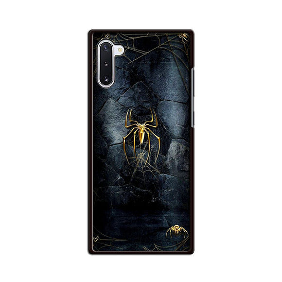 Spider Man Black And Gold Edition Samsung Galaxy Note 10 Case | Frostedcase