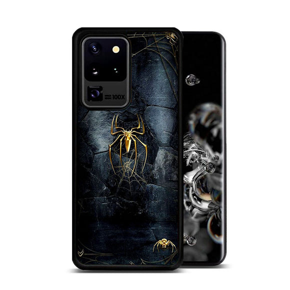 Spider Man Black And Gold Edition Samsung Galaxy S20 Ultra Case | Frostedcase