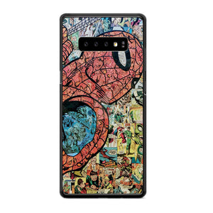 Spiderman Marvel Samsung Galaxy S10e Case | Frostedcase