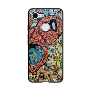 Spiderman Marvel Google Pixel 3 Case | Frostedcase