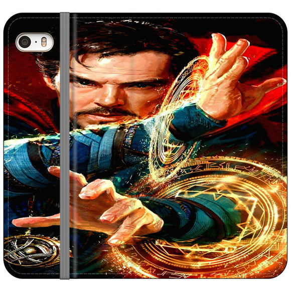 Stan Lee Doctor Strange iPhone 5|5S|SE Flip Case | Frostedcase