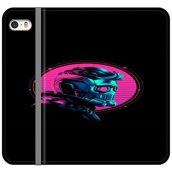 Star Lord iPhone 5|5S|SE Flip Case | Frostedcase