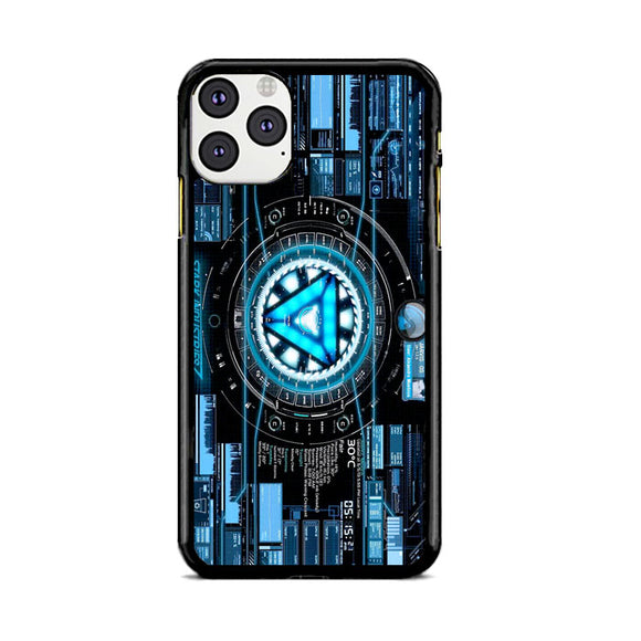 Stark Industries Blue X Iron Man iPhone 11 Pro Case | Frostedcase