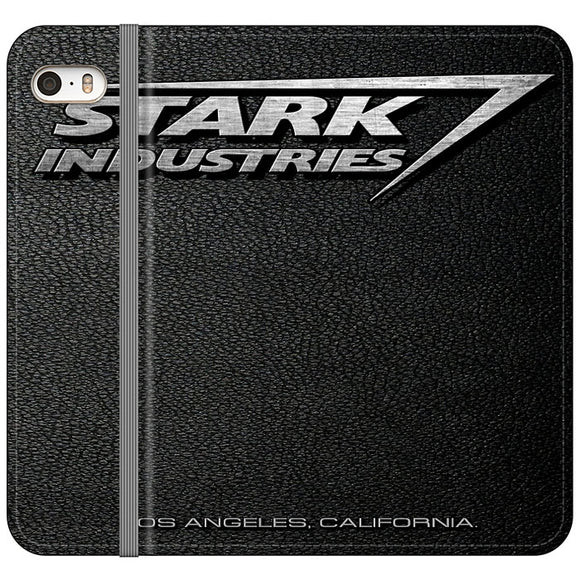 Stark Industries Orange Peel iPhone 5|5S|SE Flip Case | Frostedcase