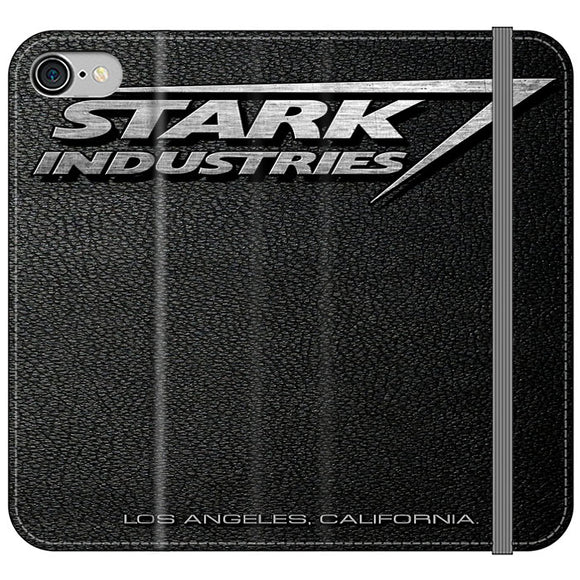 Stark Industries Orange Peel iPhone 8 Flip Case | Frostedcase