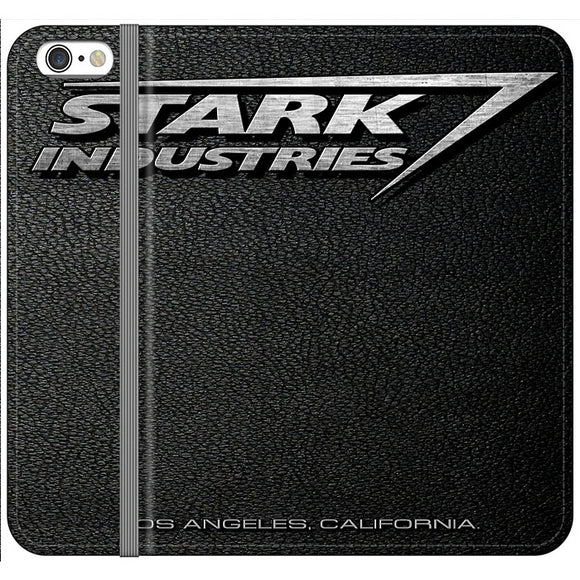 Stark Industries Orange Peel iPhone 6 Plus|6S Plus Flip Case | Frostedcase