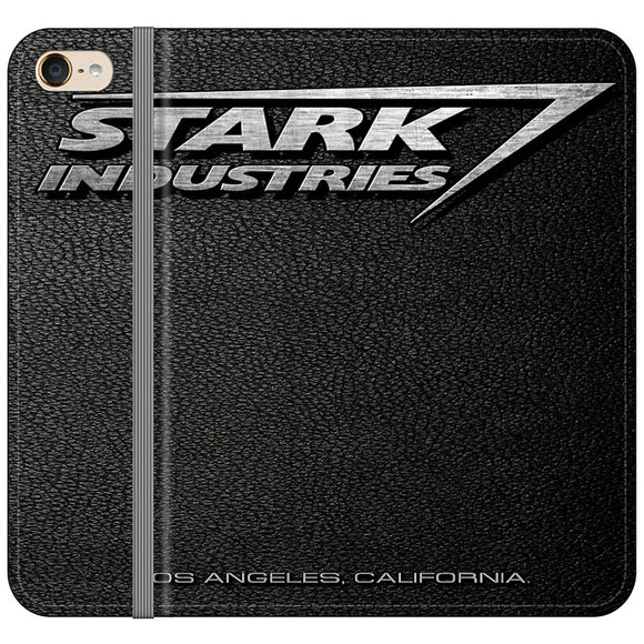 Stark Industries Orange Peel iPod 6 Flip Case | Frostedcase