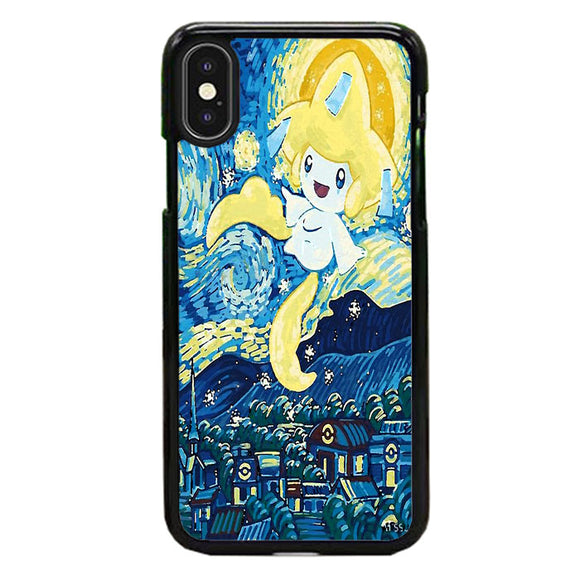 Starry Pokemon Jirachi iPhone XS Case | Frostedcase
