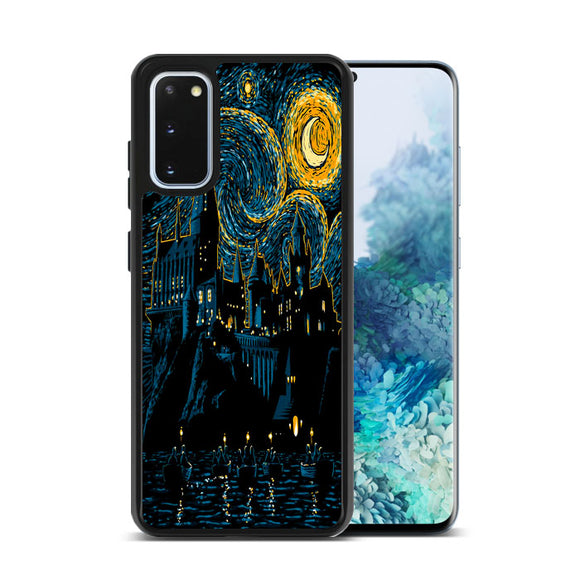 Starry School Hogwarts Harry Potter Samsung Galaxy S20 Case | Frostedcase