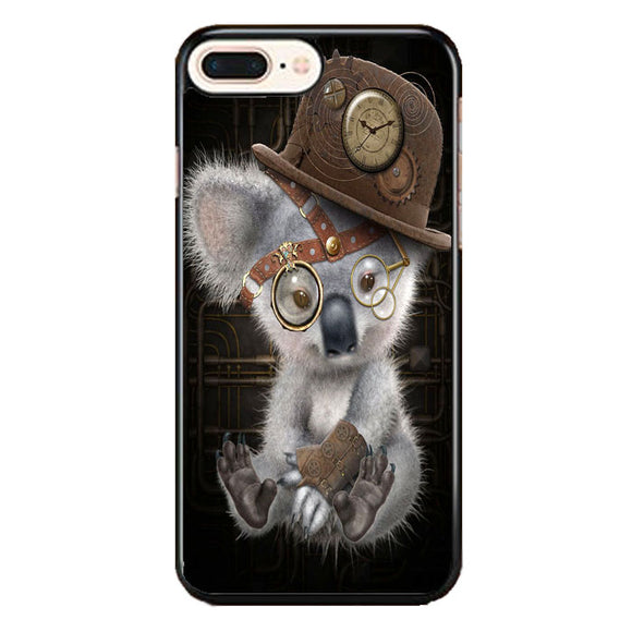 Steampunk Koala iPhone 8 Plus Case | Frostedcase