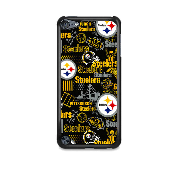 Steelers American Doodle iPod 5 Case | Frostedcase
