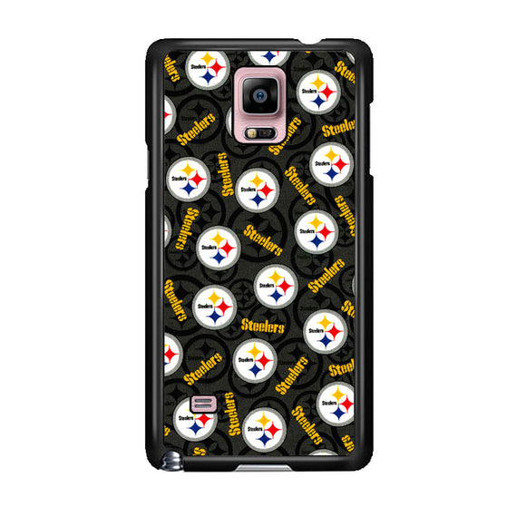 Steelers American Emblem Doodle Samsung Galaxy Note 4 Case | Frostedcase