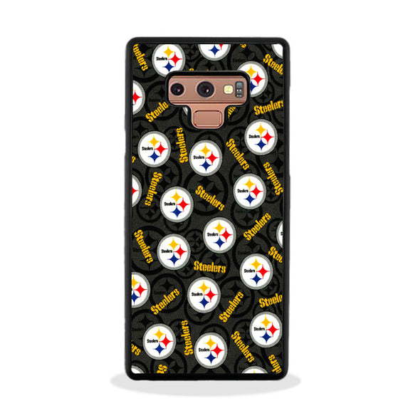 Steelers American Emblem Doodle Samsung Galaxy Note 9 Case | Frostedcase