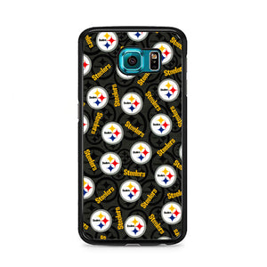 Steelers American Emblem Doodle Samsung Galaxy S6 Case | Frostedcase