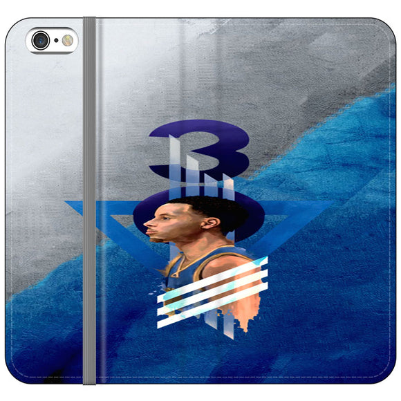 Steph Curry Warrior iPhone 6 Plus|6S Plus Flip Case | Frostedcase