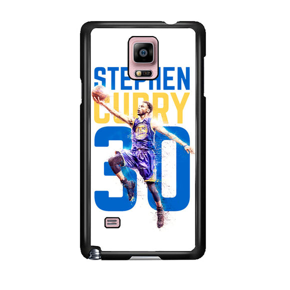 Stephen Curry 30 Ilustration Samsung Galaxy Note 4 Case | Frostedcase