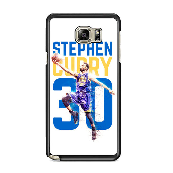 Stephen Curry 30 Ilustration Samsung Galaxy Note 5 Case | Frostedcase