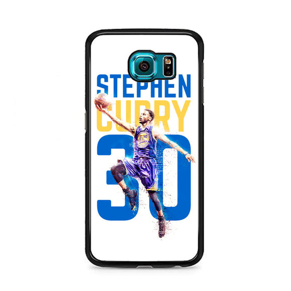 Stephen Curry 30 Ilustration Samsung Galaxy S6 Case | Frostedcase