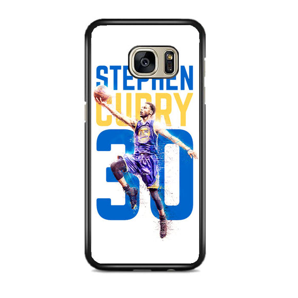 Stephen Curry 30 Ilustration Samsung Galaxy S7 EDGE Case | Frostedcase