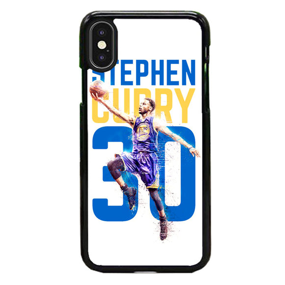 Stephen Curry 30 Ilustration iPhone XS Case | Frostedcase