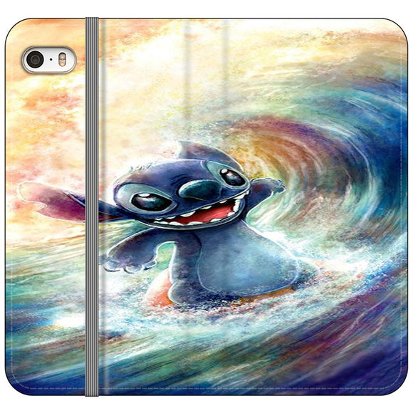Stitch Art iPhone 5|5S|SE Flip Case | Frostedcase