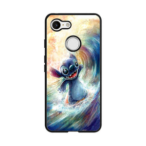 Stitch Art Google Pixel 3 Case | Frostedcase