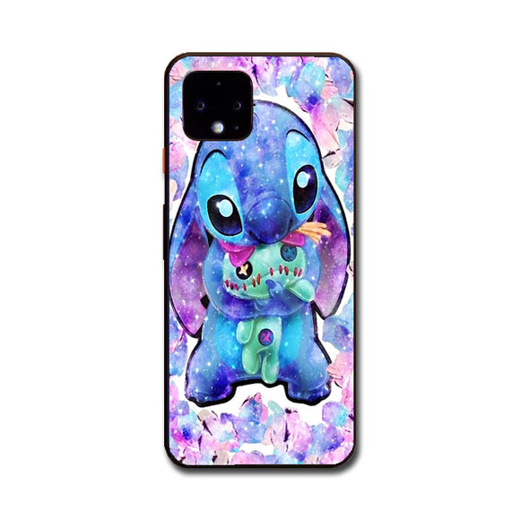 Stitch And Scrump Blink Paint Art Google Pixel 4 Case | Frostedcase