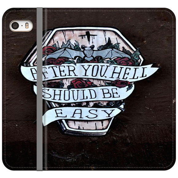 Street Art iPhone 5|5S|SE Flip Case | Frostedcase