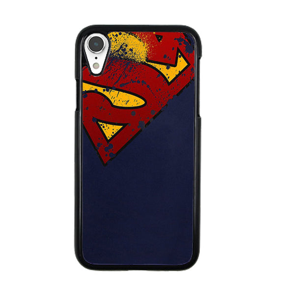 Super Herro Superman Blue iPhone XR Case | Frostedcase