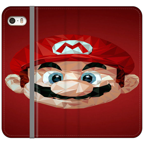 Super Mario Bros iPhone 5|5S|SE Flip Case | Frostedcase