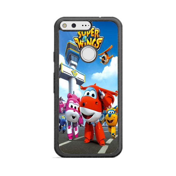 Super Wings Google Pixel Case | Frostedcase