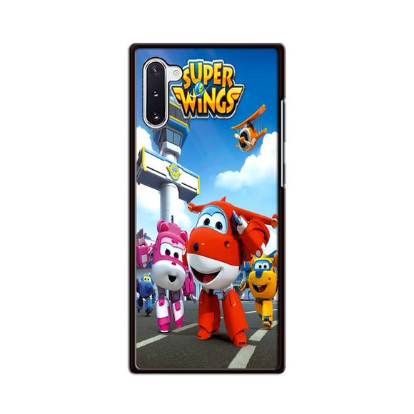 Super Wings Samsung Galaxy Note 10 Case | Frostedcase