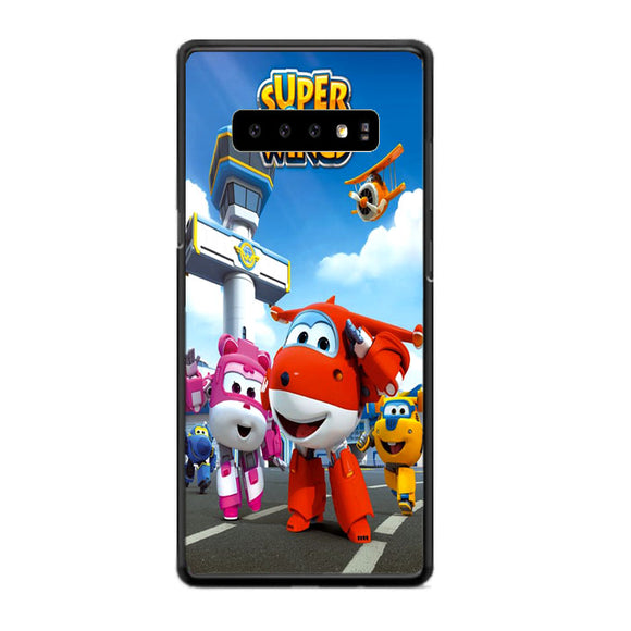 Super Wings Samsung Galaxy S10 Case | Frostedcase