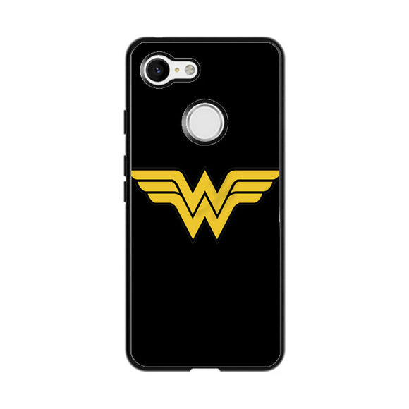 Superhero Wonder Woman Google Pixel 3 XL Case | Frostedcase