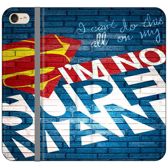 Superman In The Wall iPod 5 Flip Case | Frostedcase